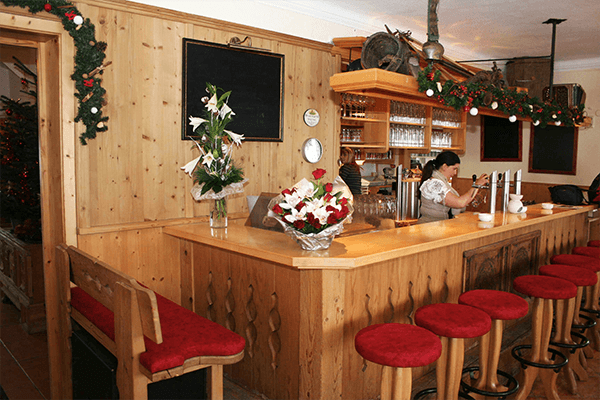 Gastraum Pension Gasthaus Widauer Ellmau